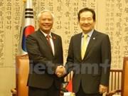 越南希望韩方继续支持越南在东海问题上的立场
