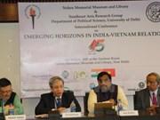 """""""印越两国关系中新机遇""""国际研讨会在印度举行"""