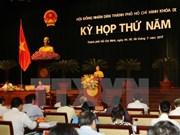 第九届胡志明市人民议会第五次会议拉开序幕