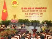 第十五届河内人民议会第四次会议落幕