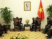 政府常务副总理张和平会见新加坡驻越大使凯瑟琳