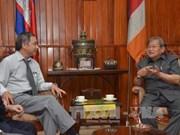 柬埔寨信息部长会见越南新闻媒体机构代表