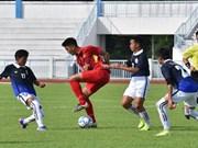 2017年东南亚U15男足锦标赛:越南队取得开门红