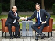 越南政府总理阮春福与荷兰首相马克·吕特举行会谈