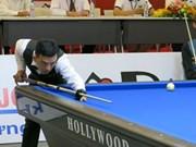 第六次国际三库开伦台球赛在越南平阳省举行