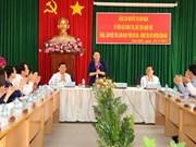 越南国会主席阮氏金银莅临巴地头顿省昆岛县