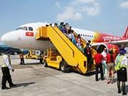 越南各家航空公司因遭第二号台风影响调整航班执行计划