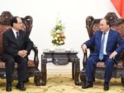 越南政府总理阮春福会见东盟秘书长黎梁明