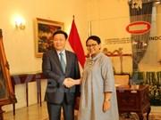 政府副总理王廷惠对印尼进行工作访问