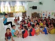 """联合国儿童基金会将胡志明市选为""""儿童友好型城市倡议""""实施城市"""