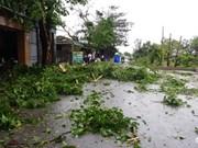 第二号台风袭击越南北部和中部各省 致使11人死亡和失踪