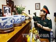 越南伤残军人和烈士日70周年:吴春历大将向越南人民军诸位已故大将敬香