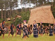 越南昆嵩省努力保护和弘扬锣钲文化