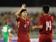 2018年U23亚锦赛预选赛:越南U22队8比1大胜中国澳门U22队