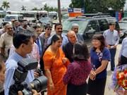 孟加拉国国民议会议长访问越南广宁省