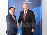 政府副总理王廷惠对澳大利亚进行工作访问