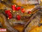 越南美食:姜黄焖虾虎鱼