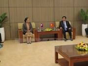 越老建交55周年:两国国会办公厅在岘港市举行第九次工作经验交流会