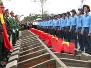 同塔省为在柬埔寨牺牲的越南志愿军和专家追悼会