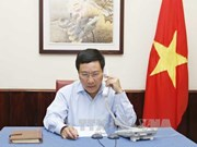 范平明就印尼海军枪伤越南渔民事件同该国外长雷特诺通电话