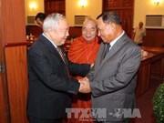 柬埔寨领导人会见越南援柬专家和志愿军代表团