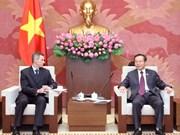 越南国会副主席冯国显会见福特集团东盟地区总裁马克·考菲曼