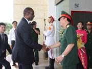莫桑比克总理德罗萨里奥访问越南国家自然灾害应急搜救委员会