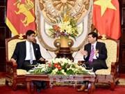 越南与斯里兰卡加大贸易与投资合作力度