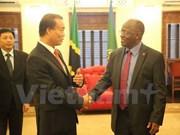 坦桑尼亚将为越南投资商创造一切便利条件