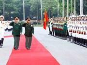 老挝人民军总政治局主任维莱访问越南