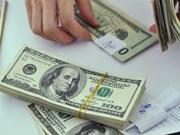 2日越盾兑美元中心汇率上涨1越盾
