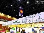 越南企业参加东盟-印度国际贸易博览会