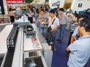 第八届越南国际广告技术设备展览会推介越南许多产品