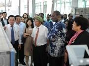 莫桑比克总理多罗萨里奥访问太平省