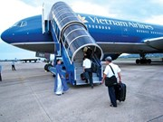 今年前7月越南各航空港旅客吞吐量达5500多万人次