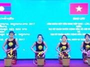 越南与老挝文艺体育交流会在俄罗斯举行