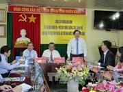 越南政府常务副总理张和平:向国际朋友宣传阮朝木刻板
