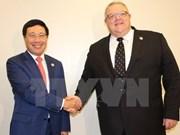 越南加强与欧盟国家的合作
