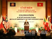 东盟成立50周年暨越南加入东盟22周年纪念庆典在河内举行 阮春福总理出席并致辞