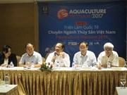 越南国际渔业博览会将于10月底举行