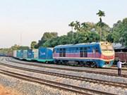 中国广州、凭祥至越南同登、安园国际铁路集装箱联运班列即将开通