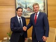 河内加强与白俄罗斯、拉脱维亚和克罗地亚三国首都的友好合作关系