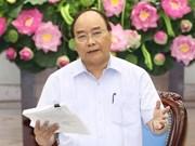 阮春福总理:切实增强责任意识  努力完成增长目标
