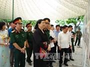 丛氏放探访和平省的老挝人民党第二次全国代表大会预备会历史遗址