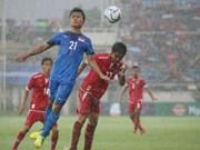 第29届东南亚运动会男足比赛:缅甸队梅开二度取开门红