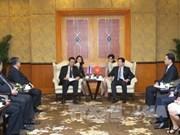 加强越泰两国立法机构的合作