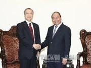 政府总理阮春福会见日本东京燃气公司总裁广濑道明