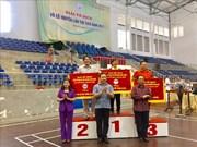 2017年第26届越南传统武术锦标赛正式闭幕