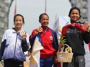第29届东南亚运动会:越南田径选手黄氏清夺得银牌