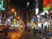 越南胡志明市裴援步行街正式开街